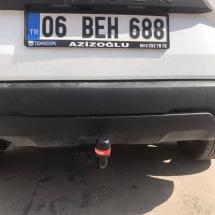 DACİA DUSTER Çeki Demiri Takma Montajı Ankara
