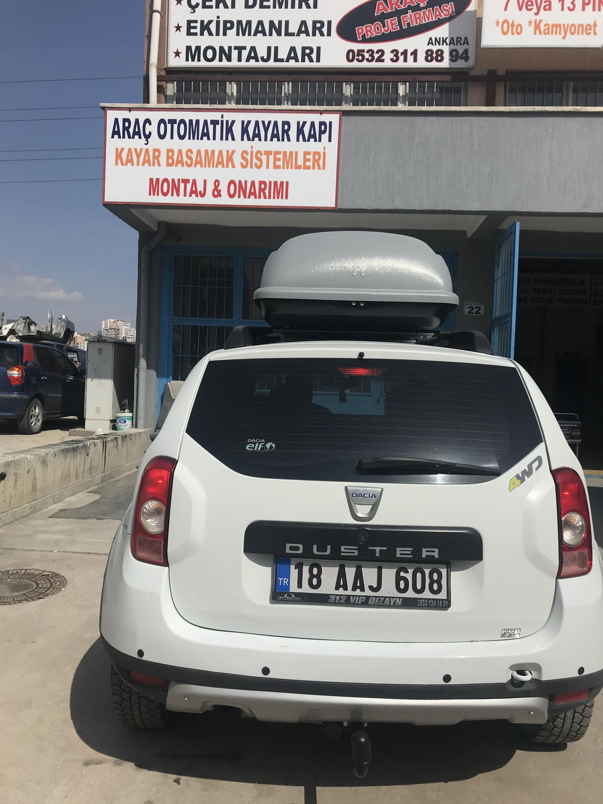 DACİA DUSTER ÇEKİ DEMİRİ TAKMA BALAMA MONTAJI ANKARA