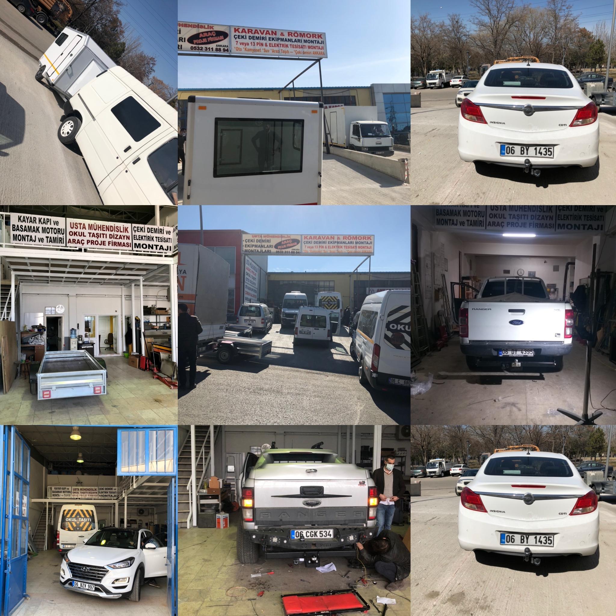 çeki demiri takma montjı ve araç proje firması Ankara 048