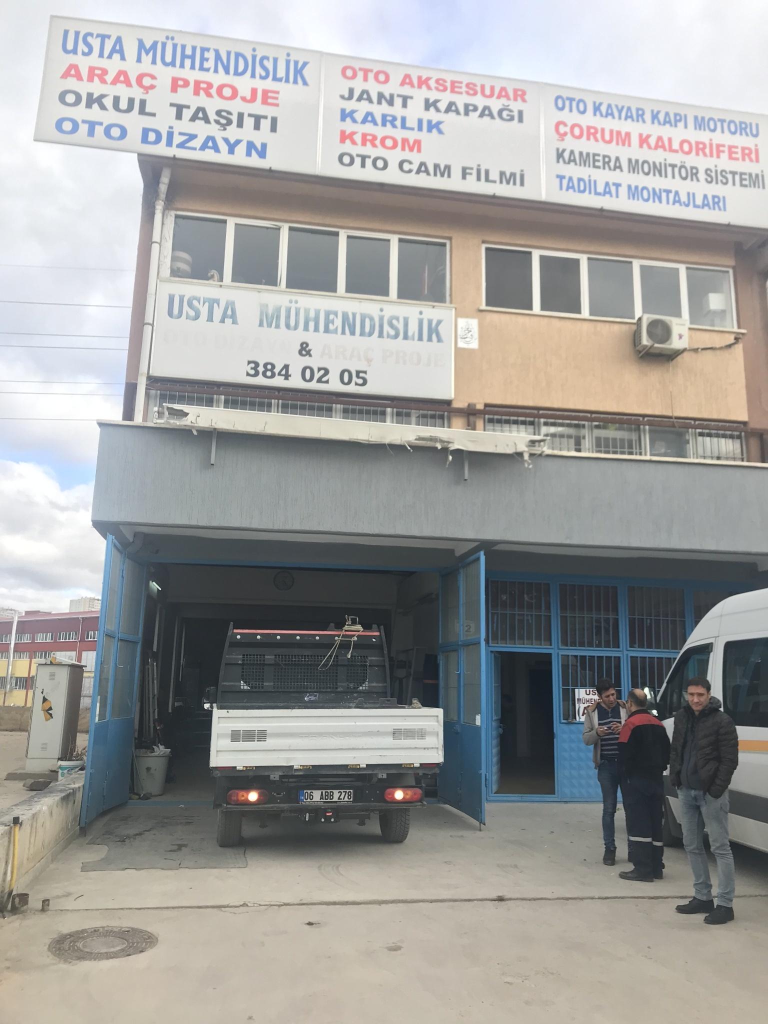 FORD TRANSİT  ÇEKİ DEMİRİ TAKMA MONTAJI ANKARA