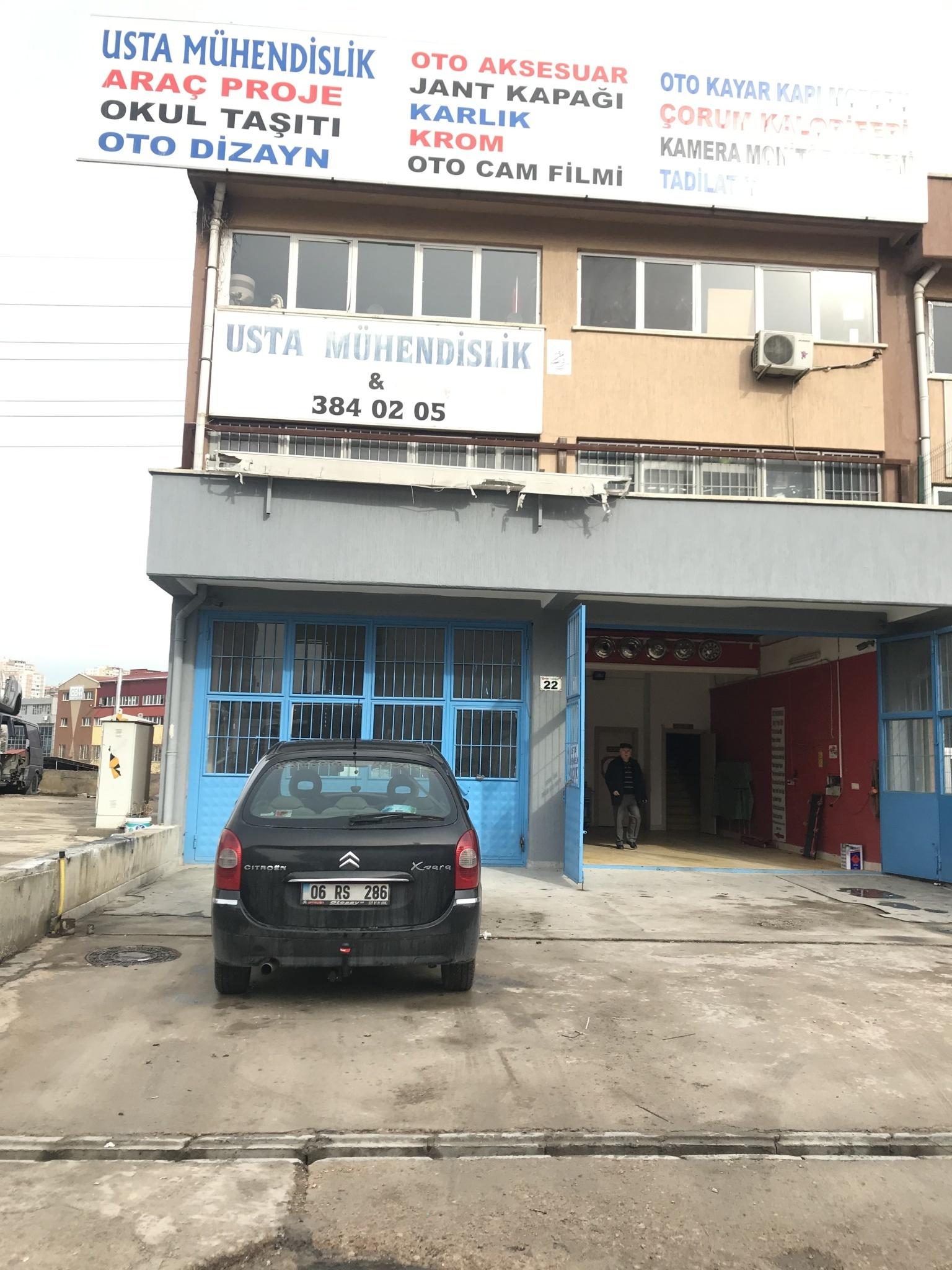 Citroen çeki Demiri Montajı araç proje Ankara/ Usta Mühendislik oto dizayn/Araç proje Firması Ankara/05323118894