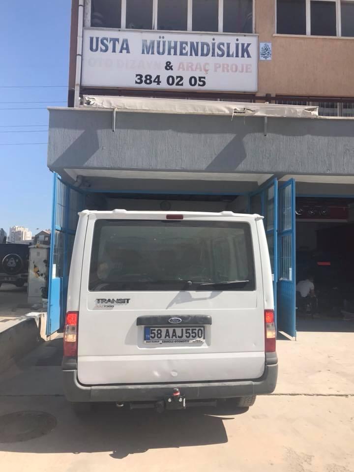 FORD TRANSİT Çeki Demiri Takma Montajı Ankara