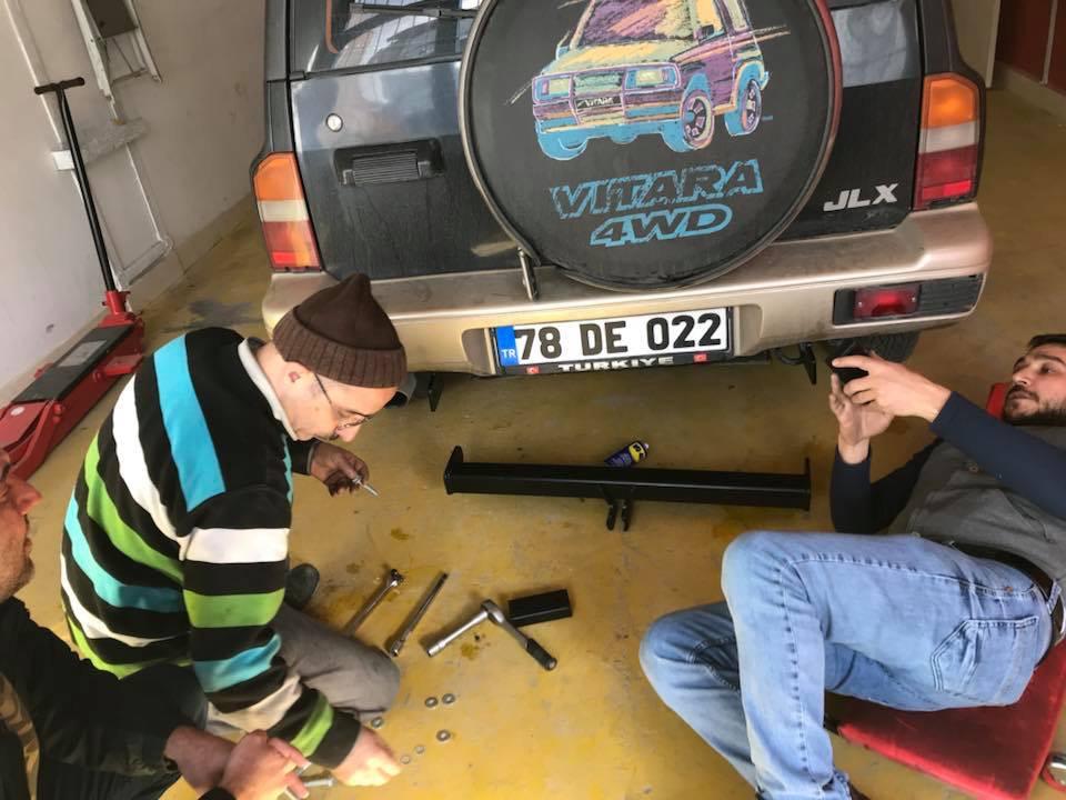 SUZUKİ VİTARA  Çeki Demiri Takma Montajı Ankara
