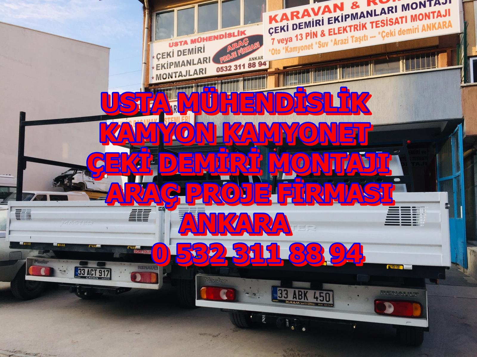 KAMYON KAMYONET ÇEKİ DEMİRİ ANKARA USTA MÜHENDİSLİK 035